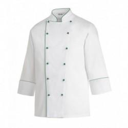 Giacca cuoco Green Piping