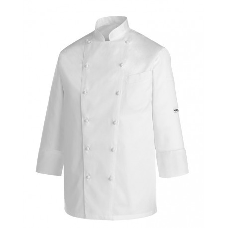 Giacca cuoco Andrea White Piping