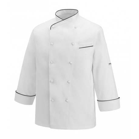 Giacca cuoco Gerard Black Piping